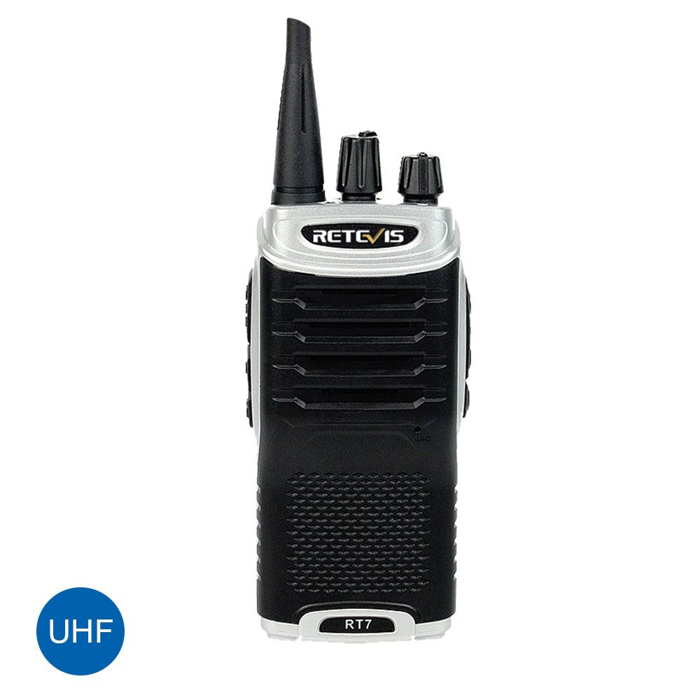 Retevis RT7 UHF 400-470MHz FM Radio Scan Walkie-Talkie