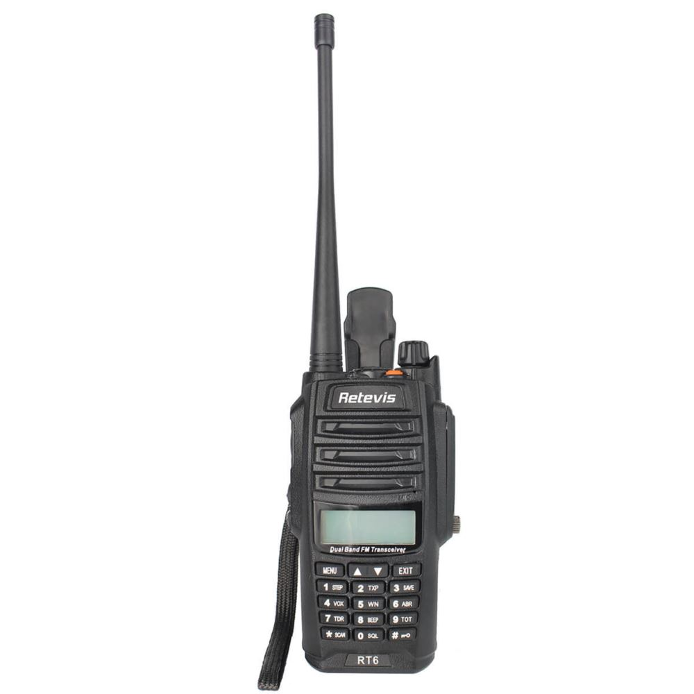 RT6 Long Range Waterproof Walkie Talkies