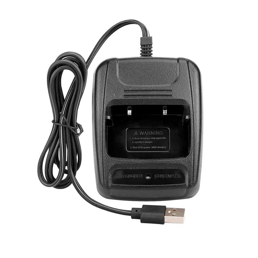 USB Li-ion Radio Battery Charger 110-240v for H777