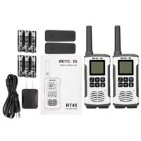 RT45 Family Rechargeable outdoor Two Way radio pacakge