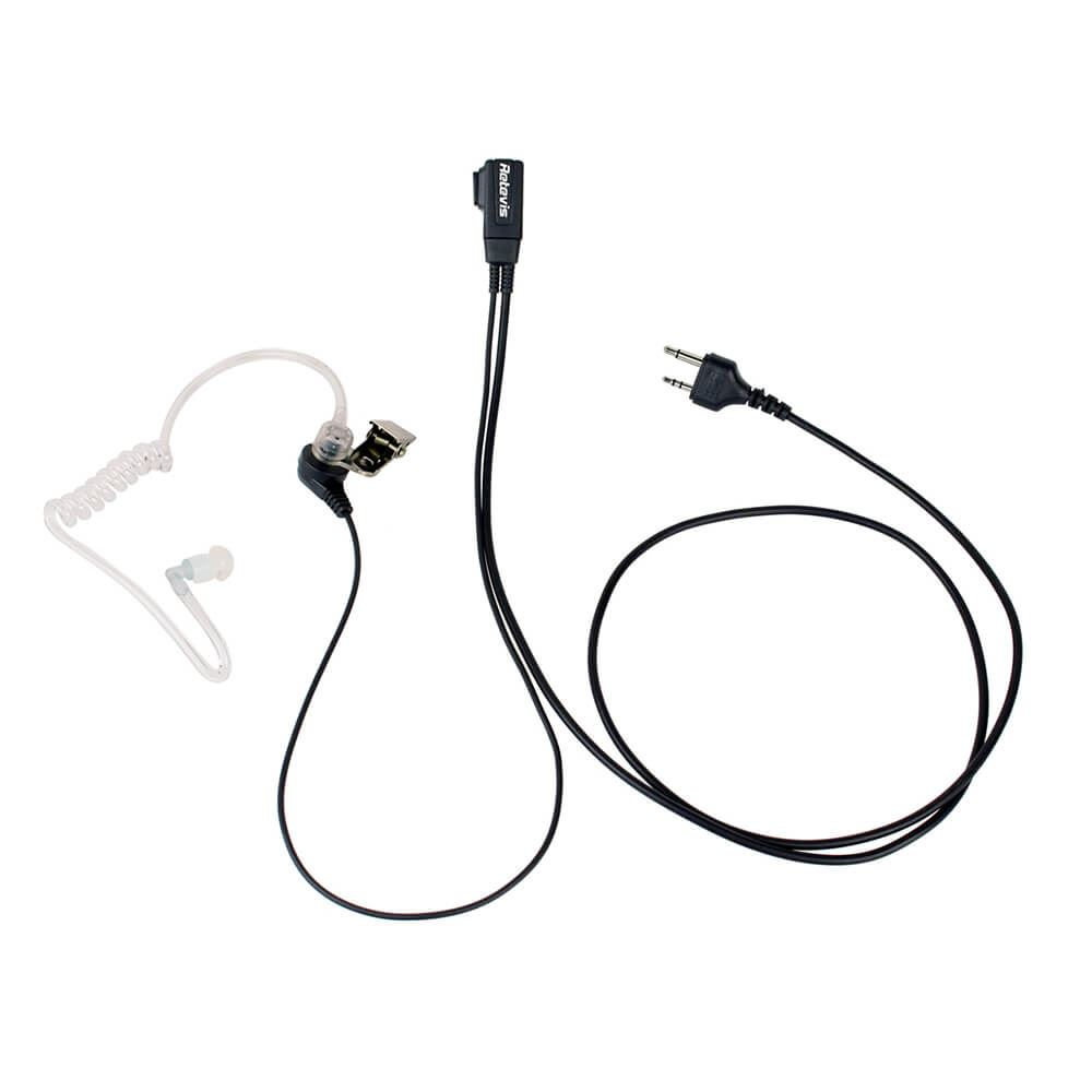 2 Pin Covert Acoustic Tube Earpiece