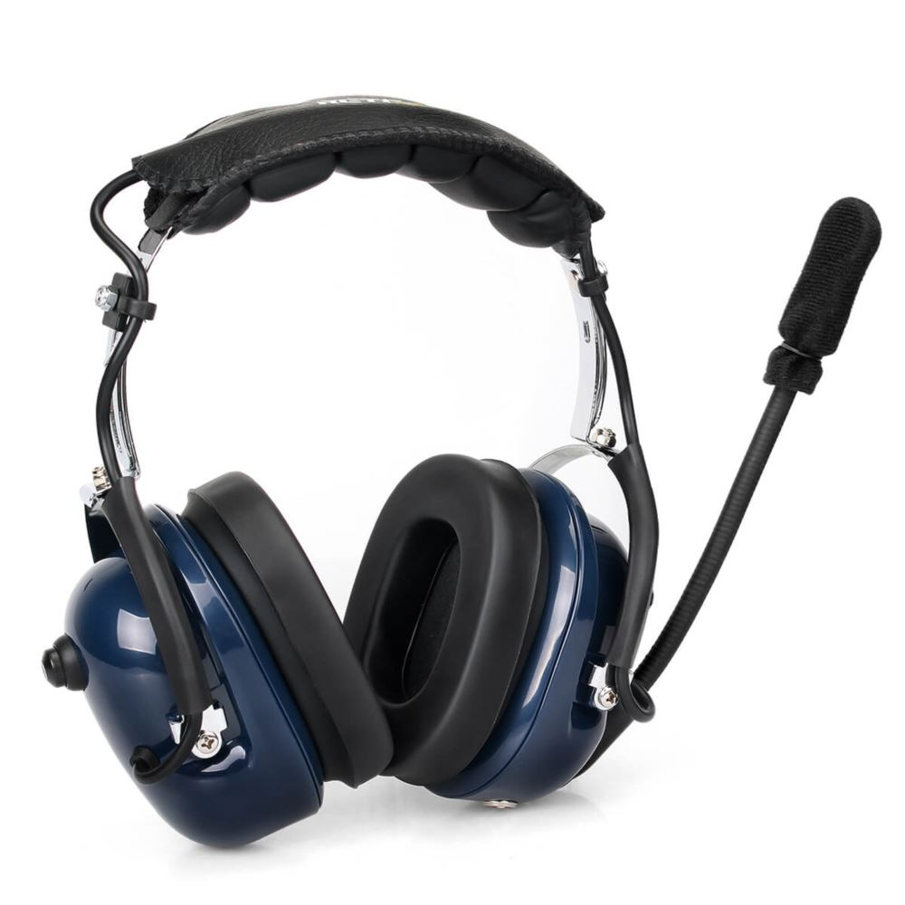 Noise-Canceling Finger PTT Headphone Headset