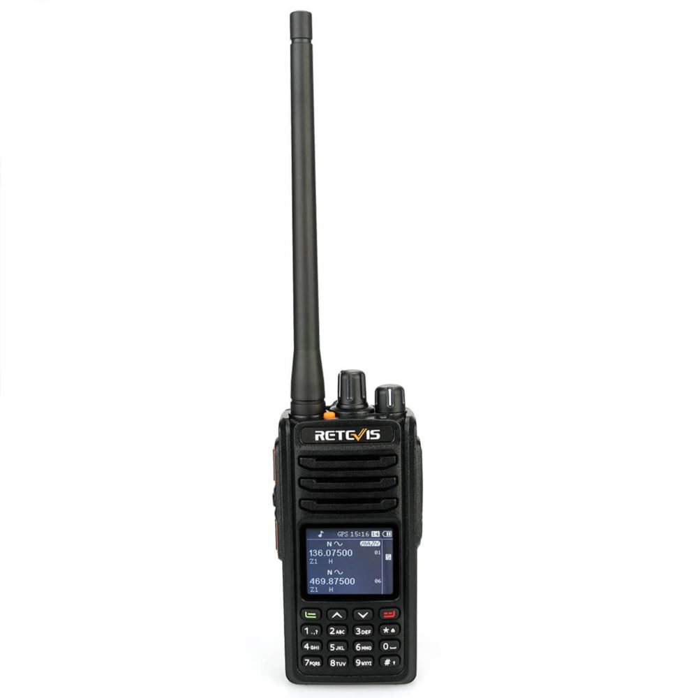 RT52 Dual PTT GPS Dual Band DMR Radio