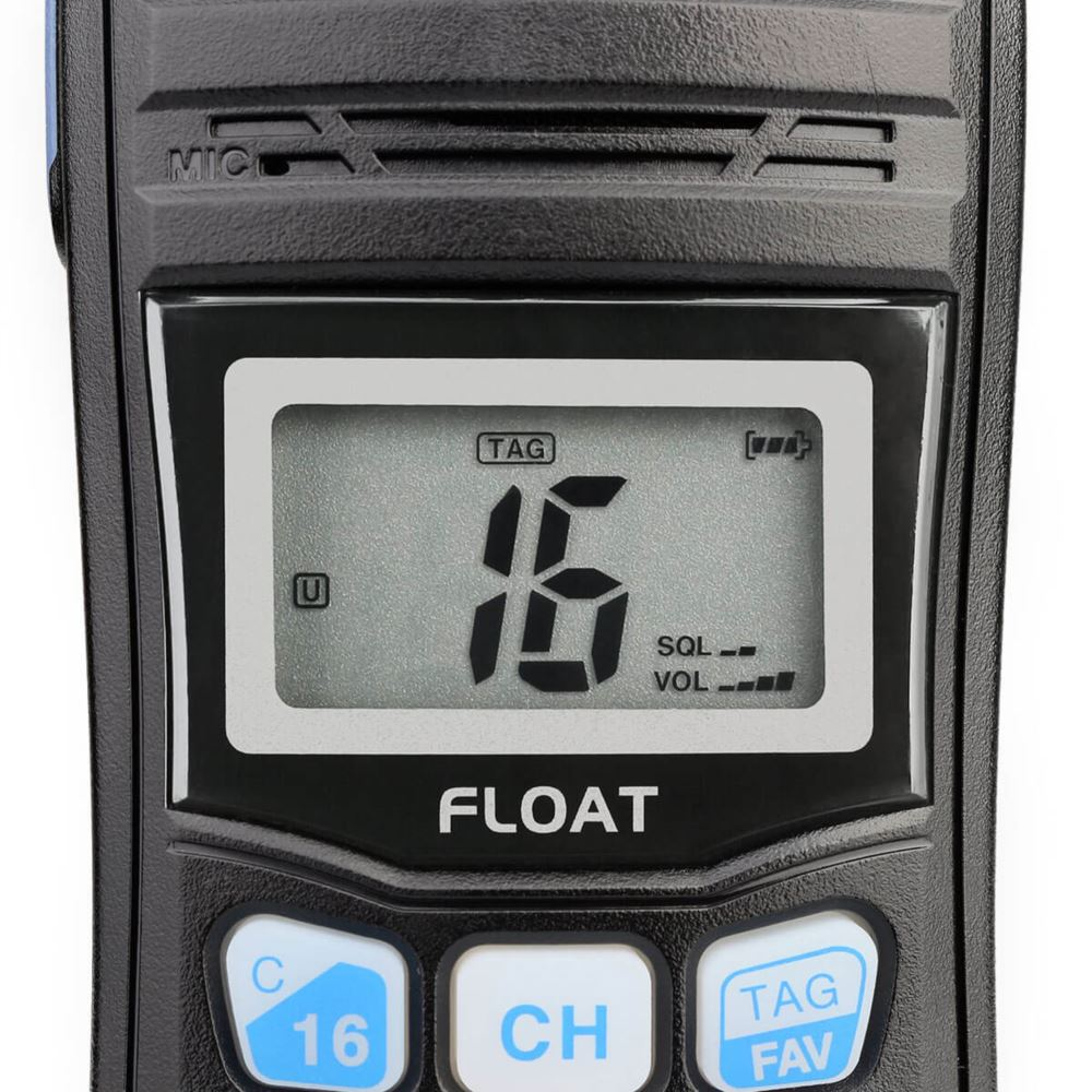 Life Saving Floating  Handheld VHF Marine Radio RT55