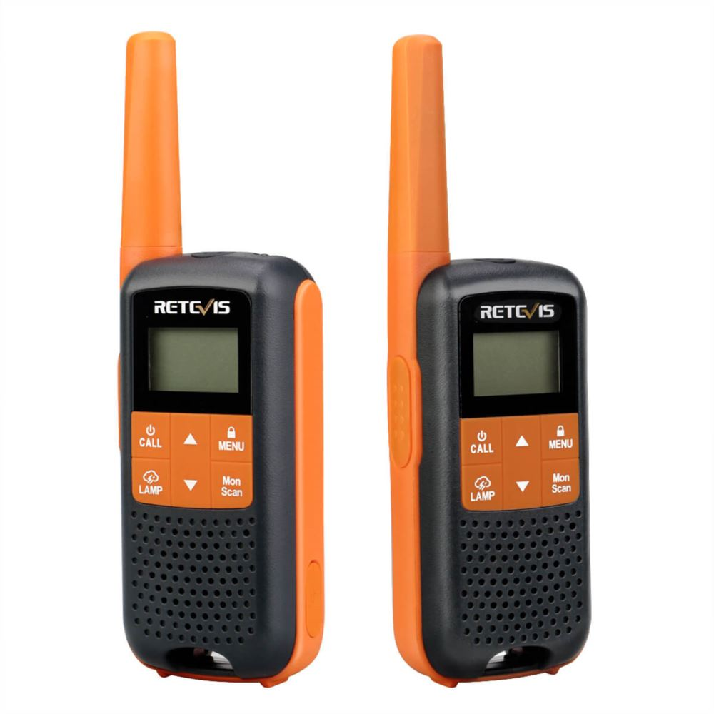 RT49 Walkie Talkies Rechargeable NOAA Weather Radio 2 Pack