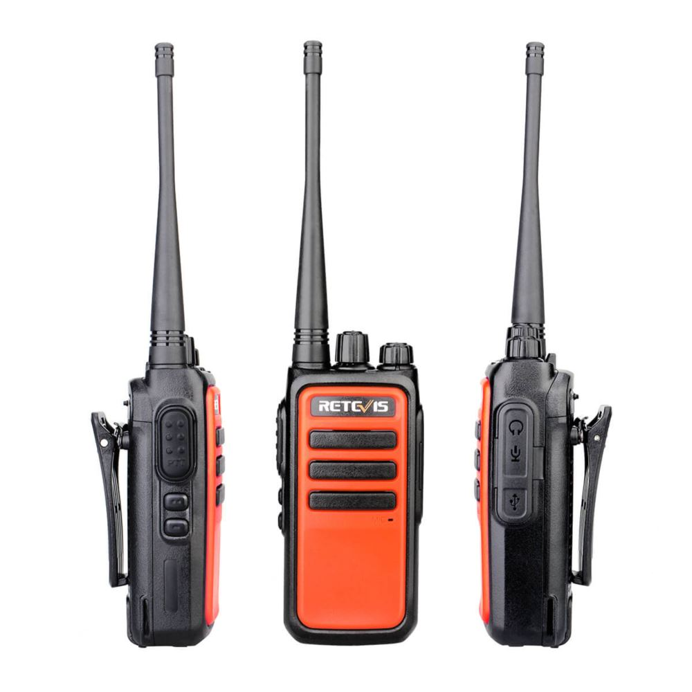 RT66/RT666 Micro USB Rechargeable Walkie Talkies