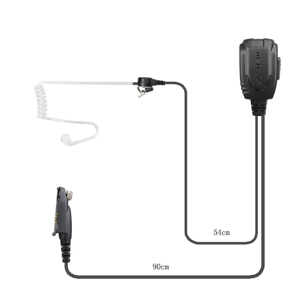 Air Acoustic Tube Earpiece for HD1 RT82 RT29