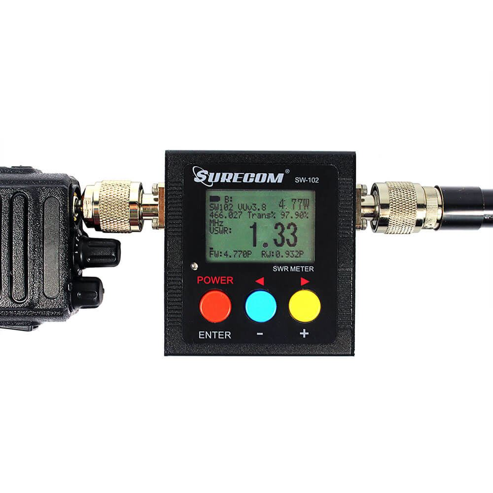 Digital VHF/UHF 125-525MHz Power &SWR Meter