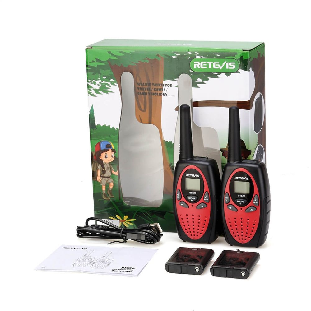 RT628 Double Head charging toy walkie talkie
