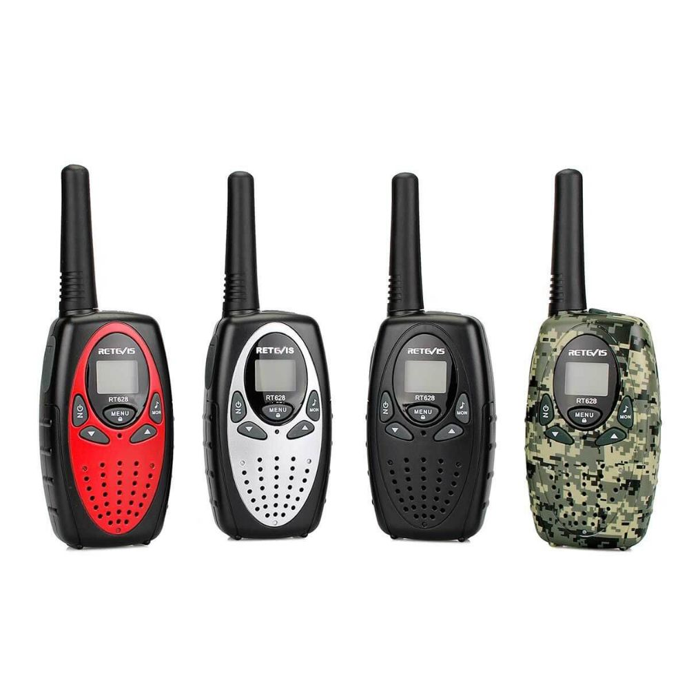 RT628 Multi-color Outdoor Adventure Game Toy Walkie-Talkie