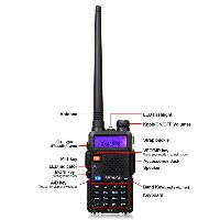 A7105C--4 RETEVIS RT5R High Power FPP Dual Band HAM Radio