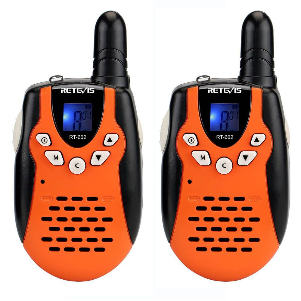 RT602 New orange Rechargeable Walkie Talkie Toy