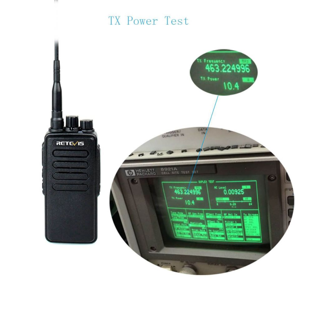 RT1 High Power UHF or VHF Analog Business Radio