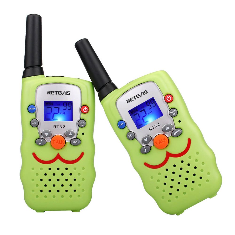 RT32 Smiley Face Toy Walkie Talkie Hot Cake