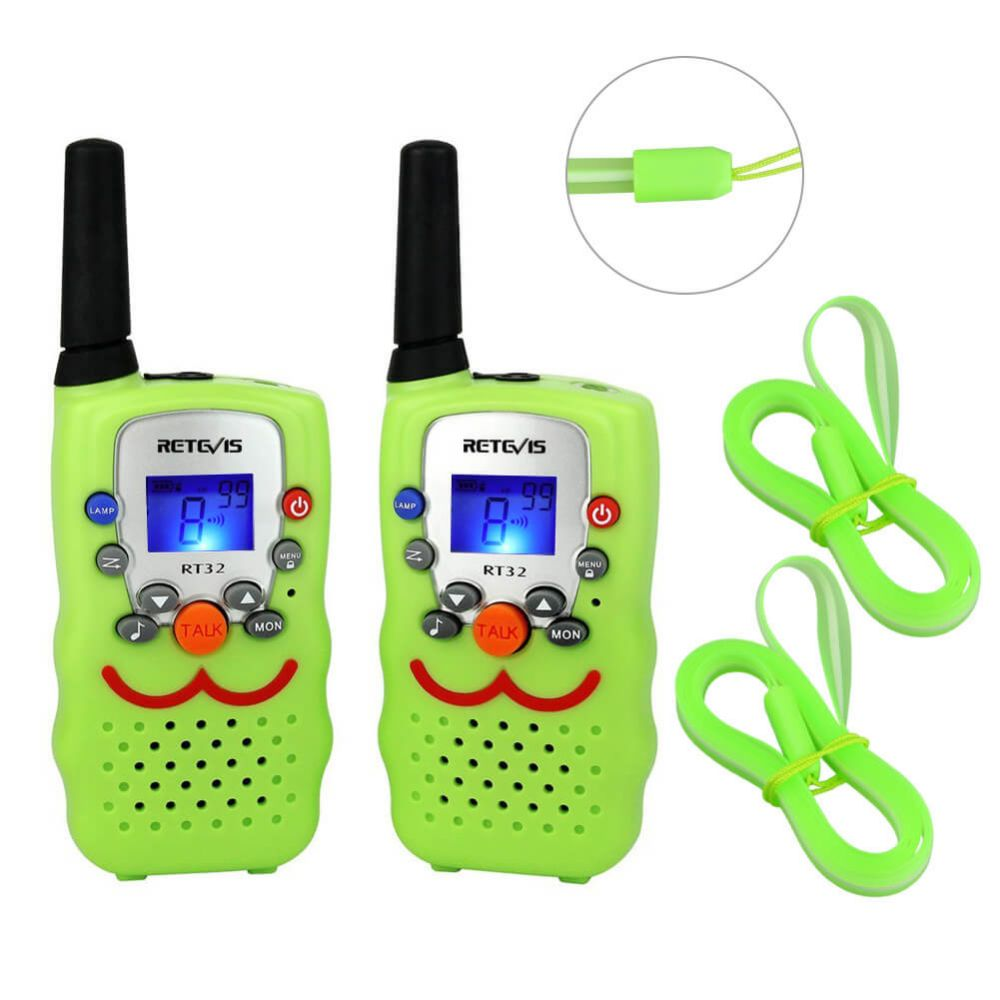 RT32 Smiley Face Two-Way Radio For Kids