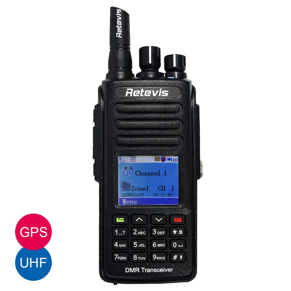RETEVIS RT8 IP67 VHF or UHF Waterproof Dustproof DMR Digital Radio