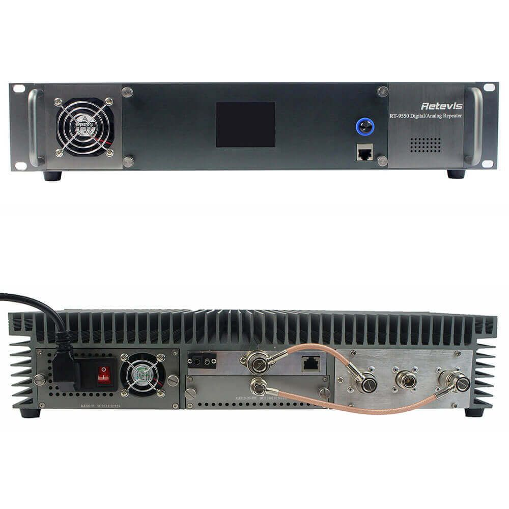 IP Network RT9550 DMR Repeater Digital/Analog mode