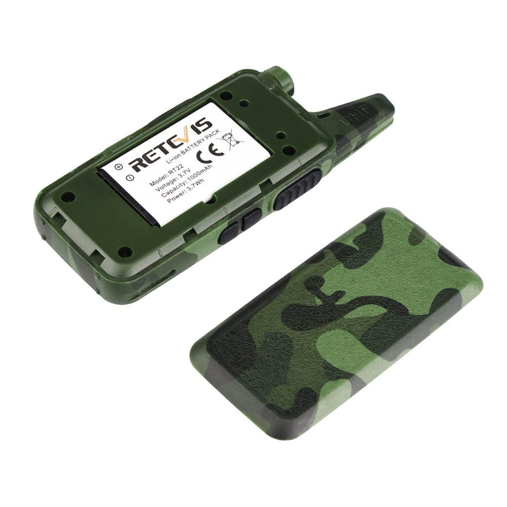 RT22 Camouflage USB Charge license-free Radio