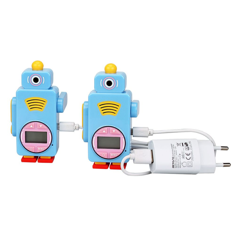 RT36Unique Robot Multifunctional Walkie-Talkie Toy