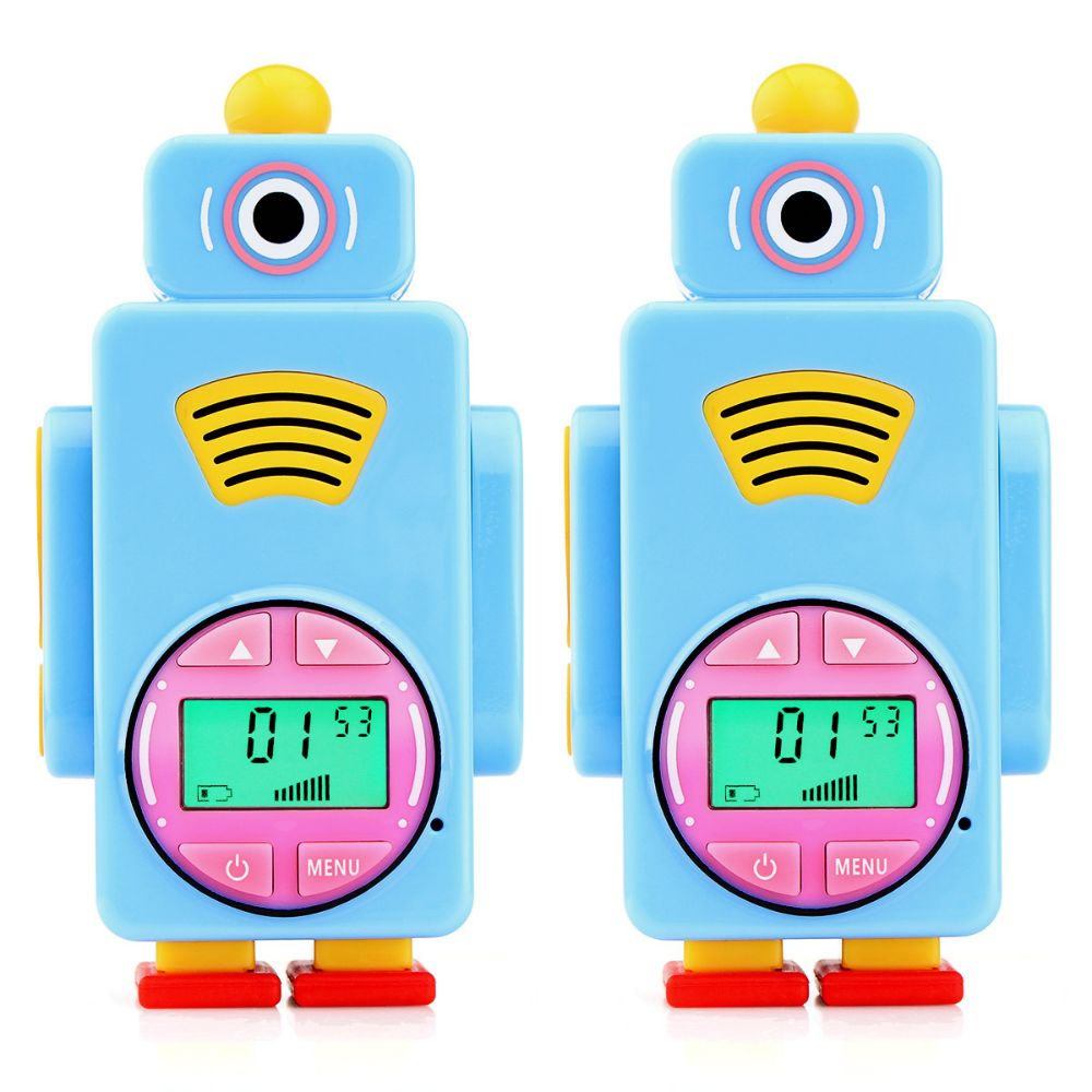 Pair RT36 rechargeable toy walkie talkies