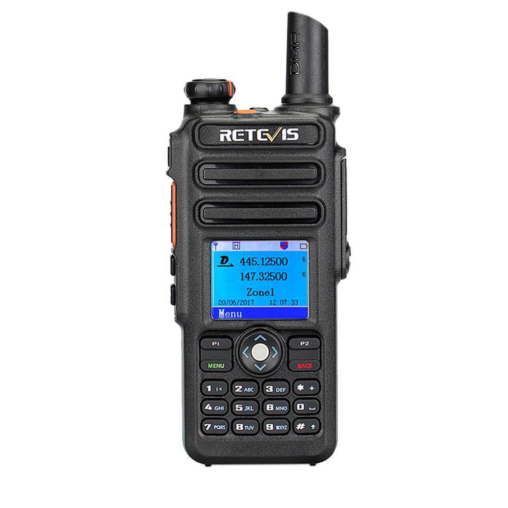RT82 Recording Dual Band Ham Radio Built-in GPS