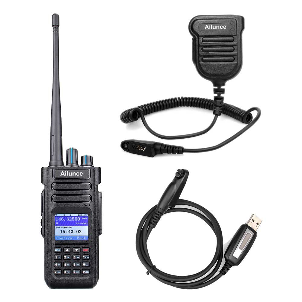 HD1GPS+Programming Cable+IP67 Speaker Mic