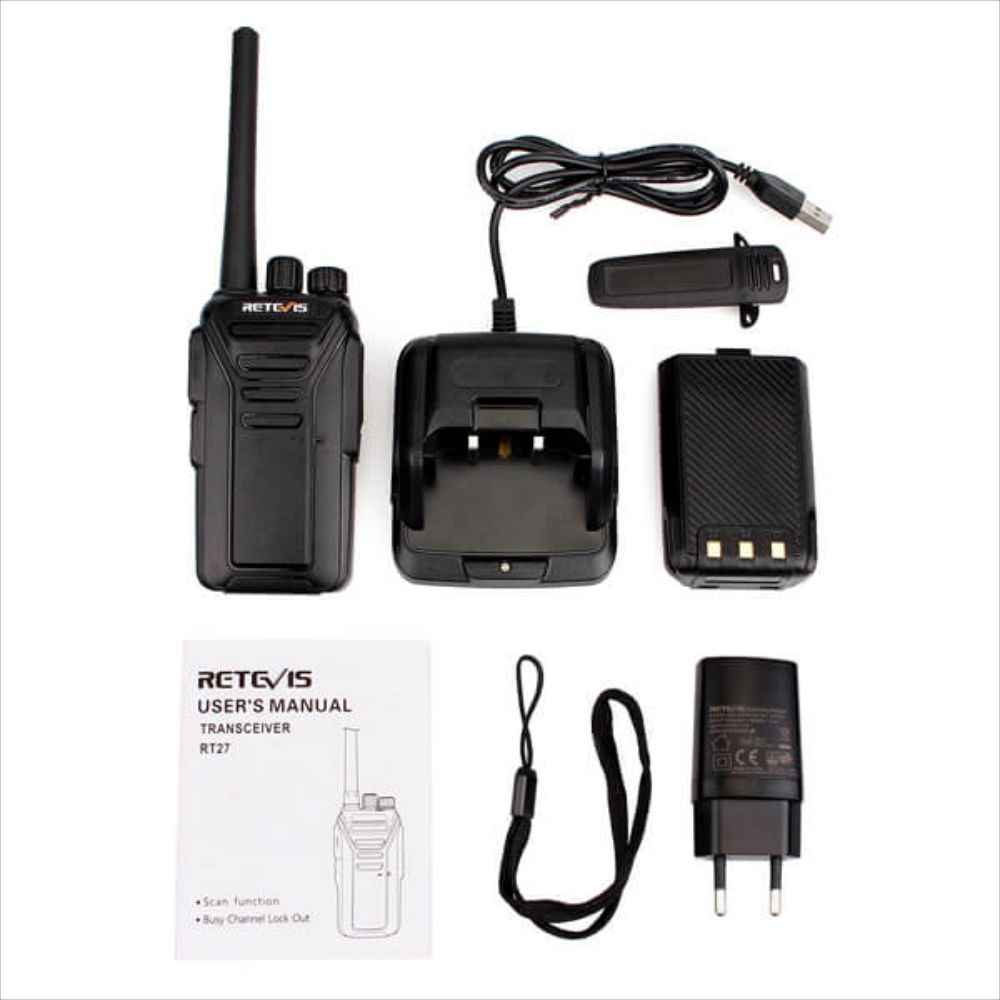 RT27 FRS License-free Portable Walkie Talkies