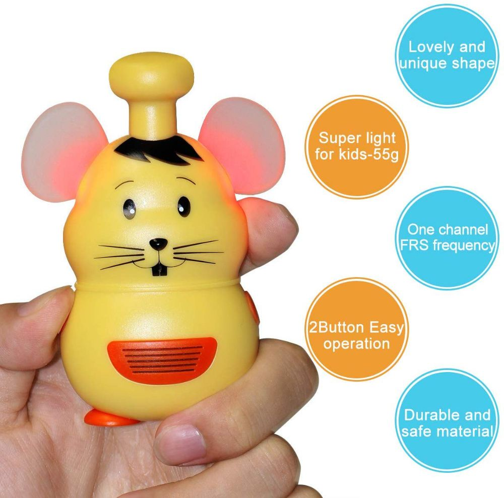 RT30M Kitchen Mouse Toy Walkie Talkie