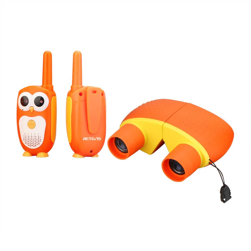 RT30 Owl Toy walkie talkies+Binoculars Gift Sets-US