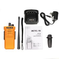 Retevis RT29 orange package details