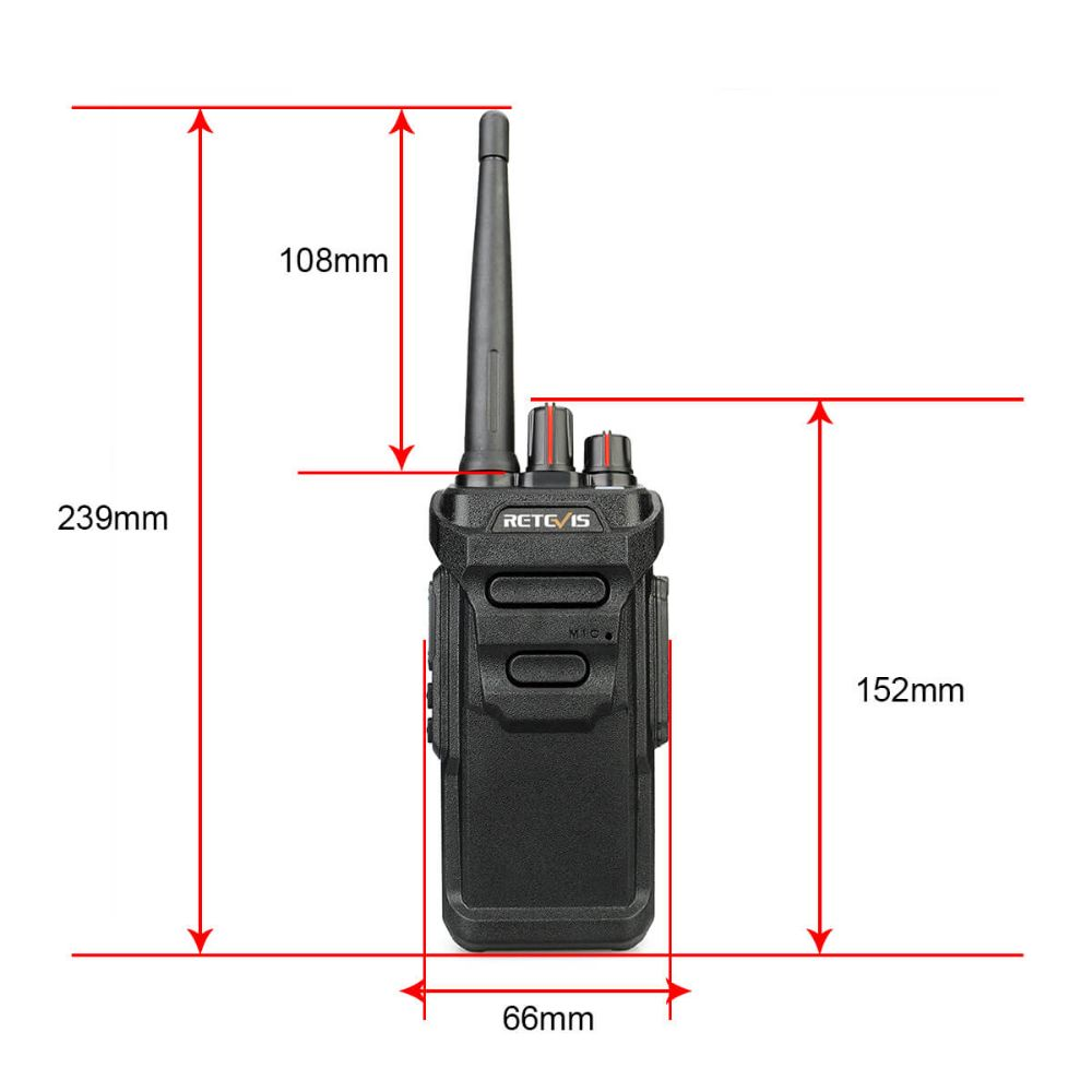 RT648 IP67 PMR Business Radio