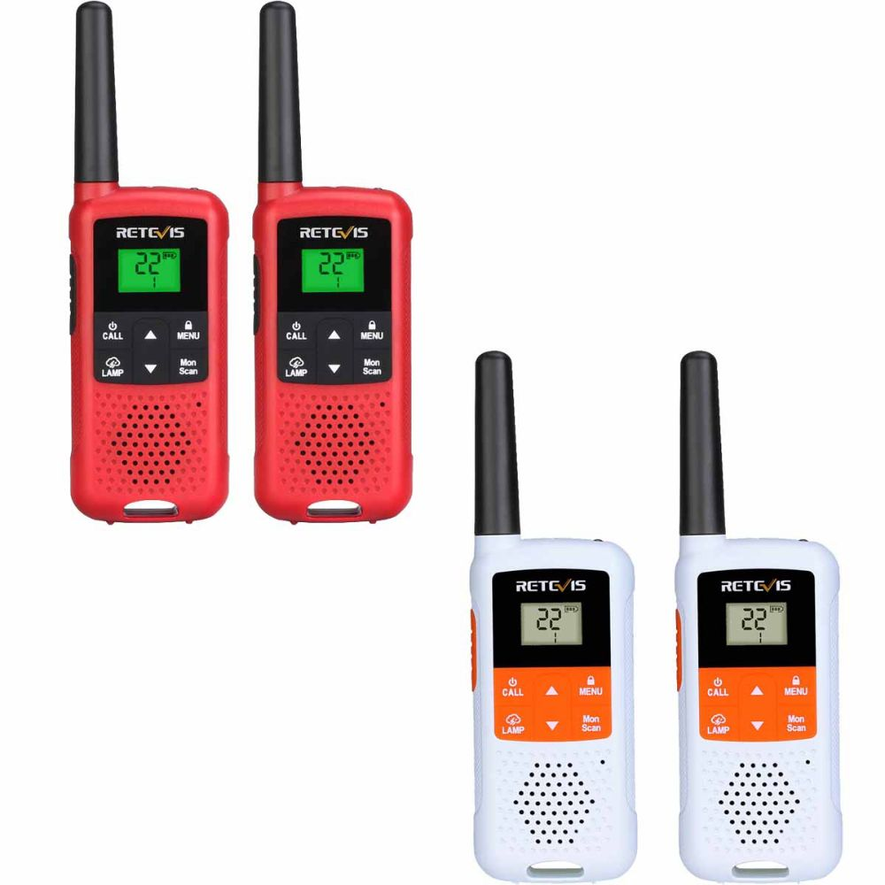 RT649B USB Rechargeable Walkie-talkies Portable Radio