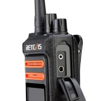 Retevis RT76P headset and programming interface