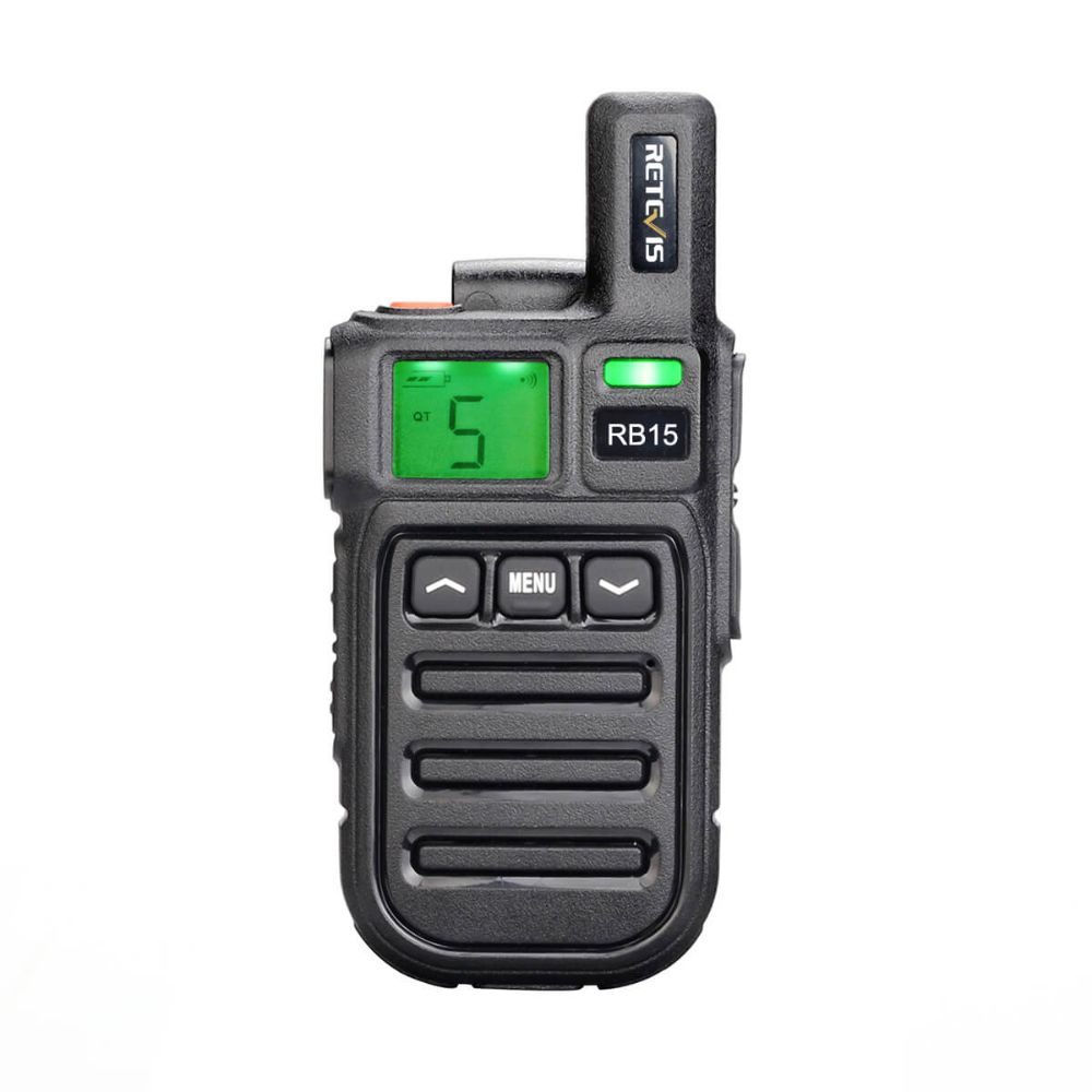 RB15 Vibration Radio 22CH US FRS Certified License Free