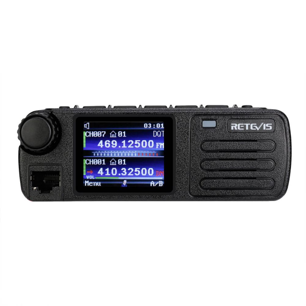 RT73 Mini GPS Dual Band DMR Mobile Radio