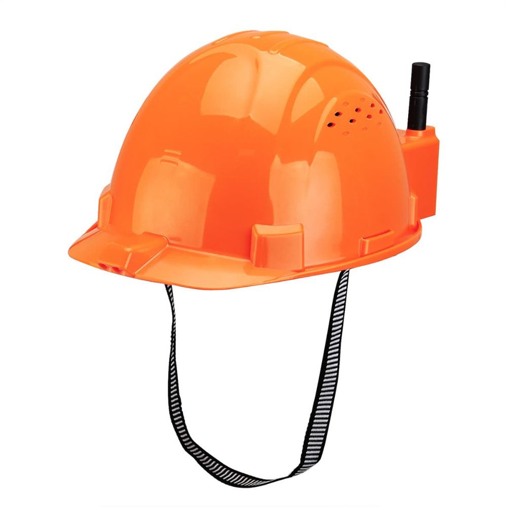 ultra-high temperature warning helmet FRS Radio