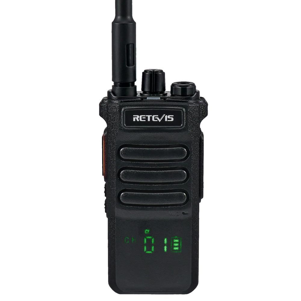 RT86 Hidden Display UHF Radio with flashlight long-distance call