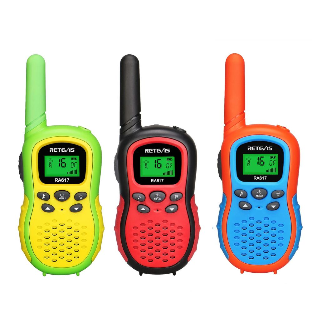 Retevis 3PCS RA17 Children's toy Radio Handheld Walkie Talkie