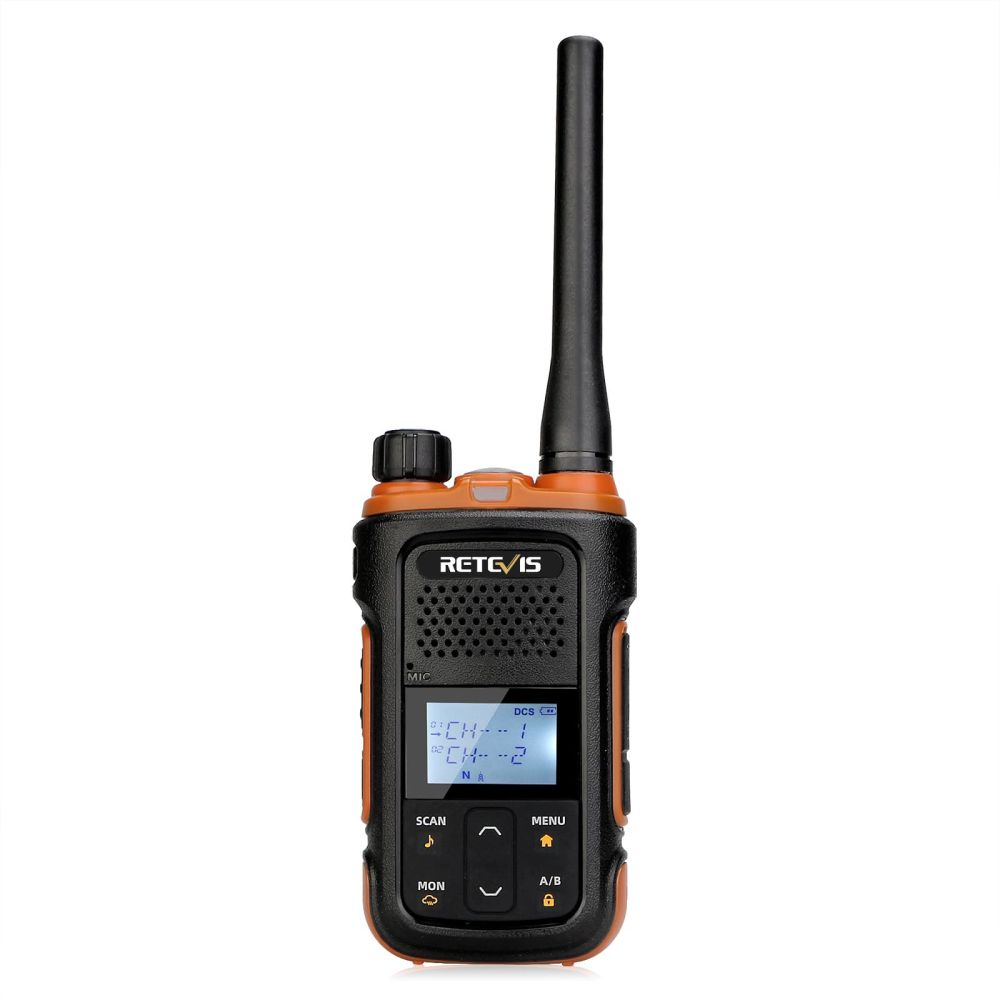 RB27B FRS License-Free with Flashlight and Emergency Alert 2W 22CH Radio