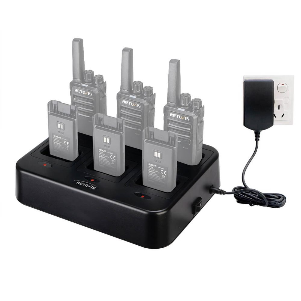 RTC68 Six-Way Charger Multi Unit Charger