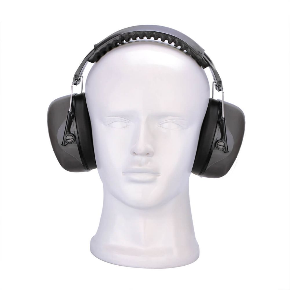 EHN001 Black High Quality Noise Reduction Earmuff