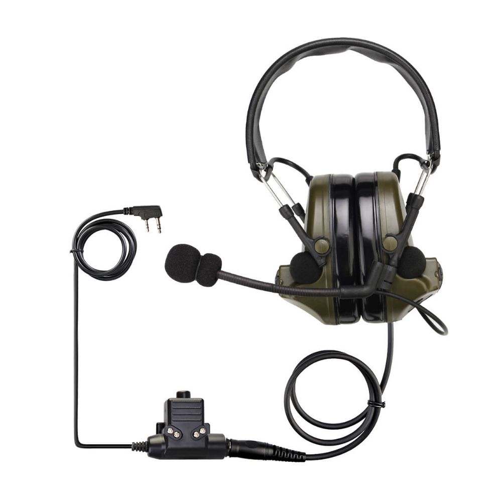 EHK007-K Electronic Pickup and Noise Reduction Headphones