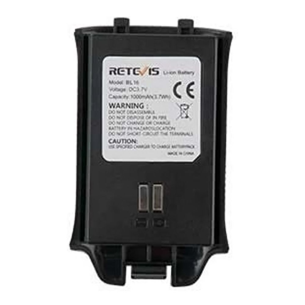 1500mAh 3.7V Original Rechargeable Li-ion Battery for Retevis RT16