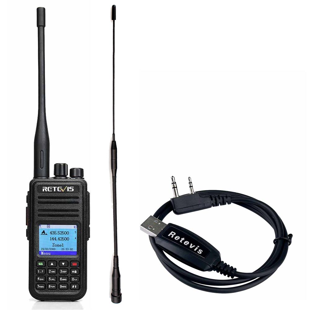 RT3S Dual Band DMR Radio Built-in GPS