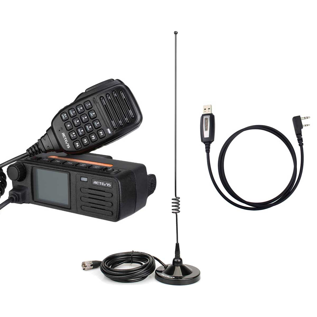 RT73 Mini GPS Dual Band Mobile Radio