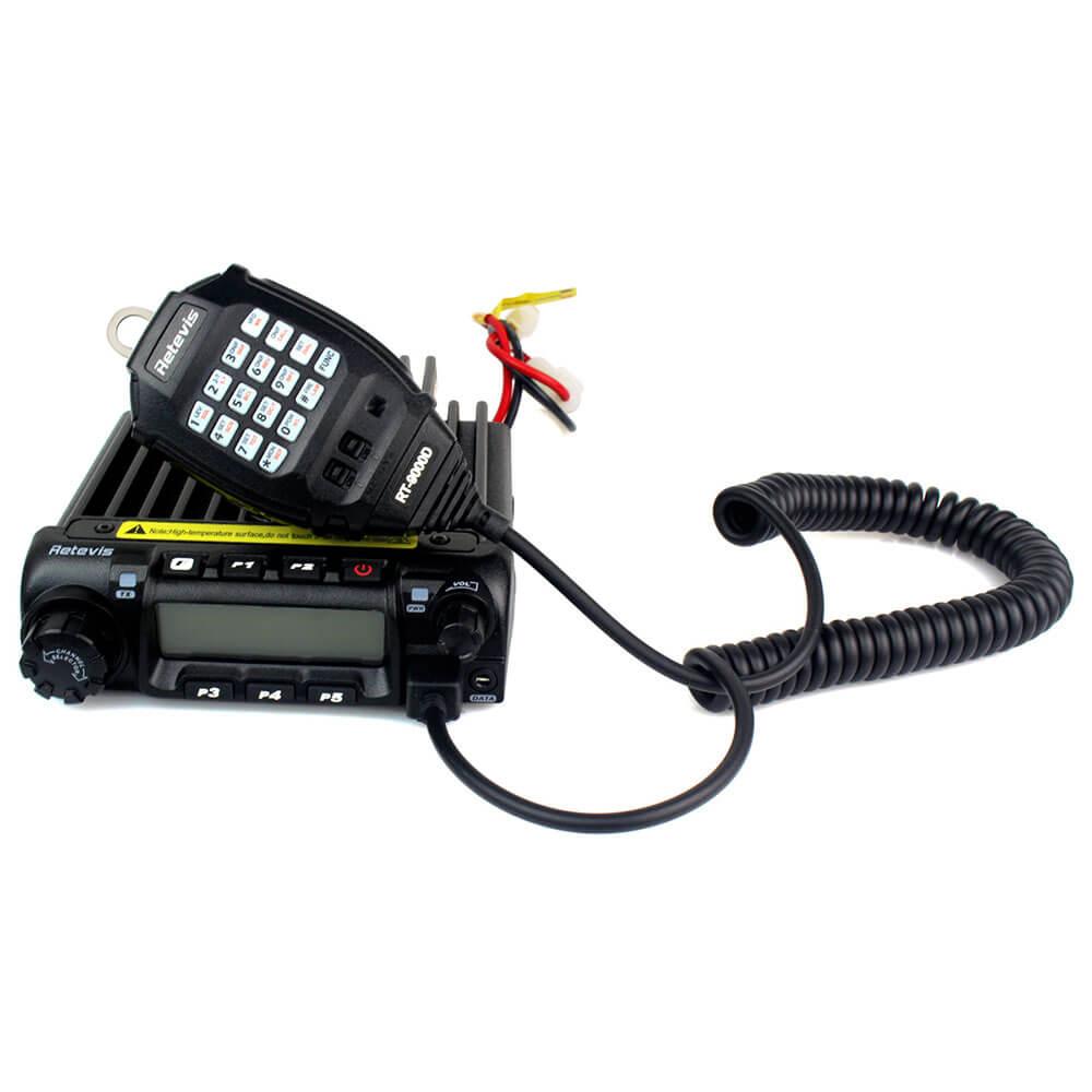+UHF Car Ham Radio Transceiver 8 Group Scrambler 136-174MHz Retevis RT9000D VHF
