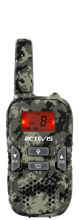 RT33 Outdoor License-free Camouflage walkie talkie