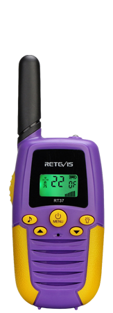 RT37 Best multi-color full-featured walkie talkie