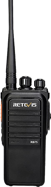 RB75 Waterproof Long Standby GMRS Handheld Two-way Radios