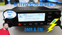Retevis RT90 GPS DMR & FM Dual Band Radio Review. Worth the cash?